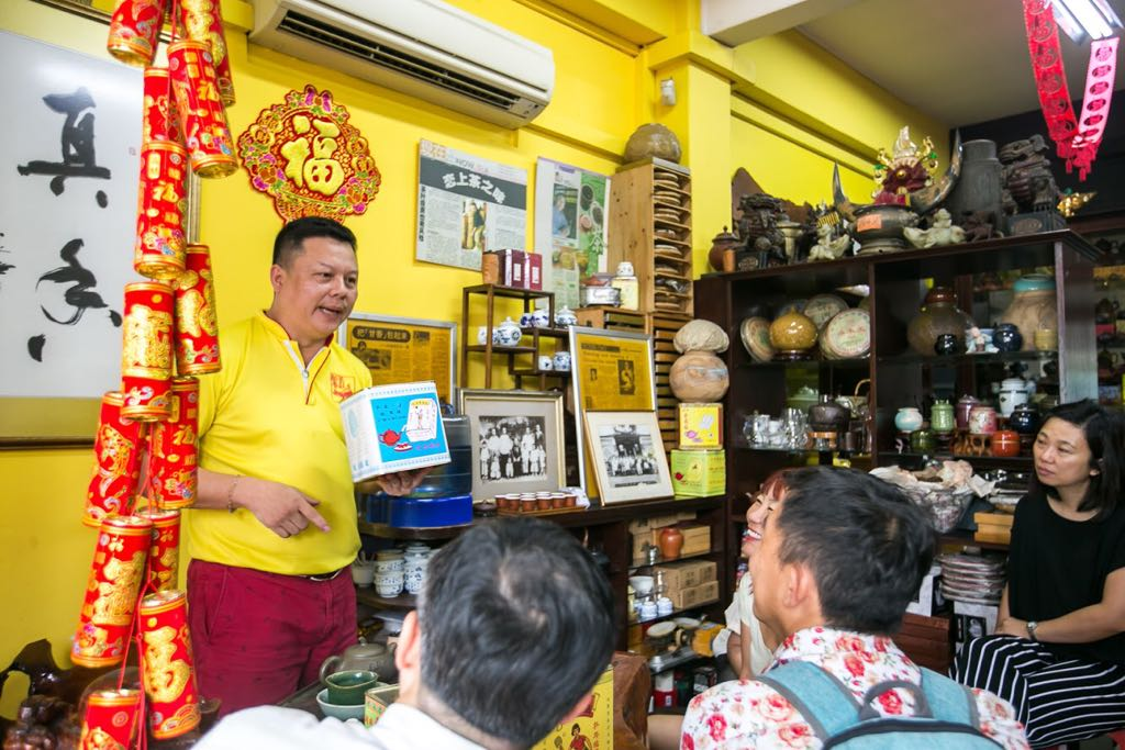 Behind The Scenes - Appreciating Tea Through The Generations (Pek Sin Choon) - Image courtesy of Singapore Heritage Festival