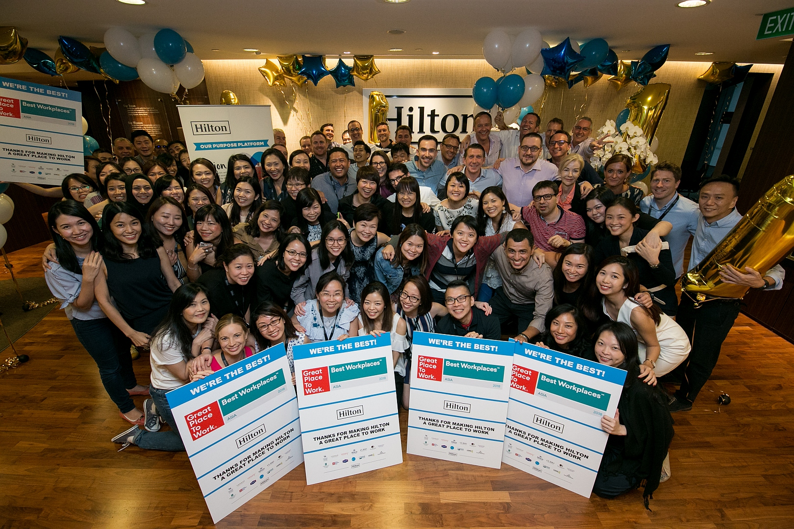 Hilton named Asia's best multinational workplace 2018