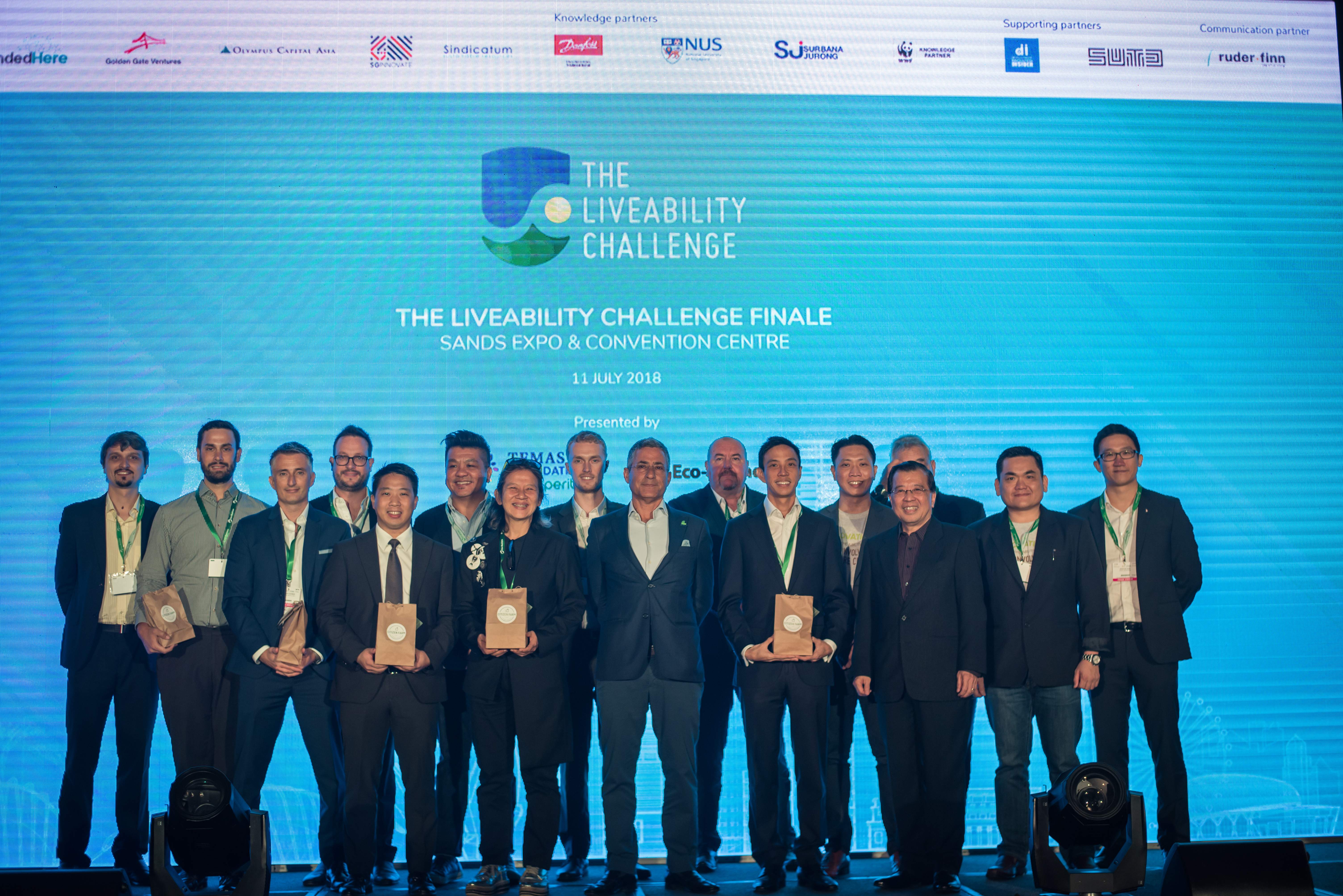 Photo 1 - Finalists at The Liveability Challenge 2018